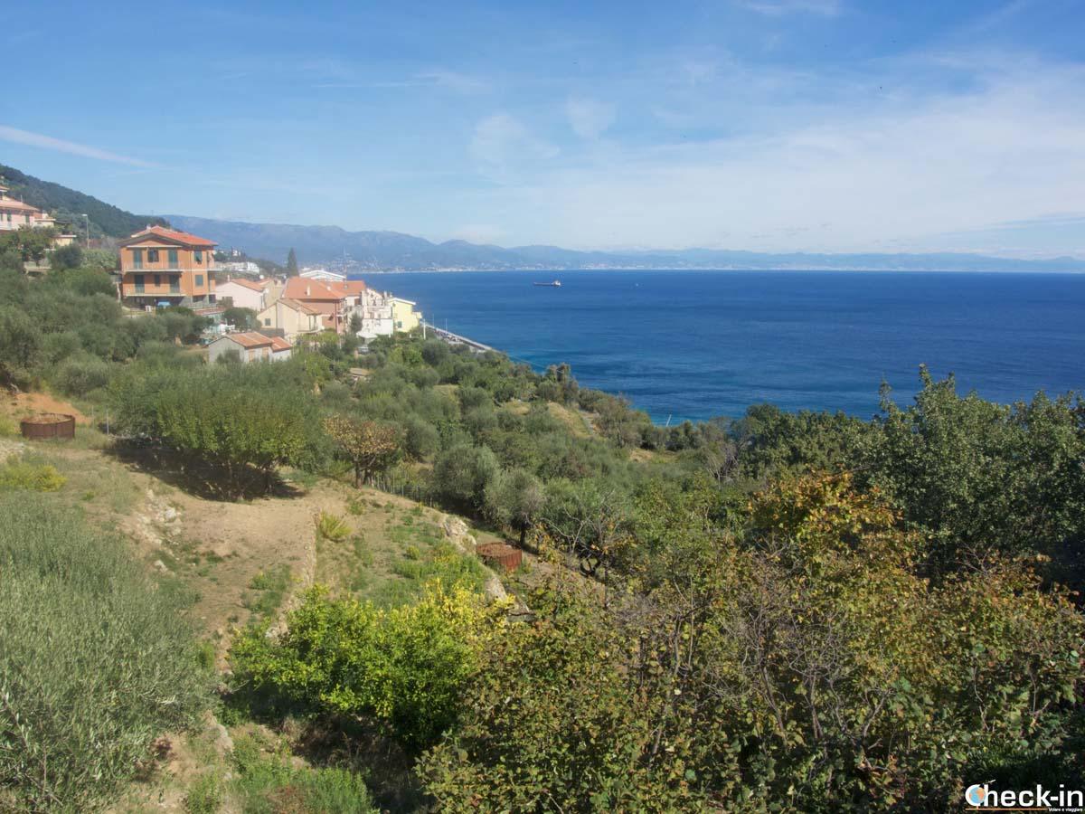 Torre del Mare, frazione di Bergeggi (Liguria)