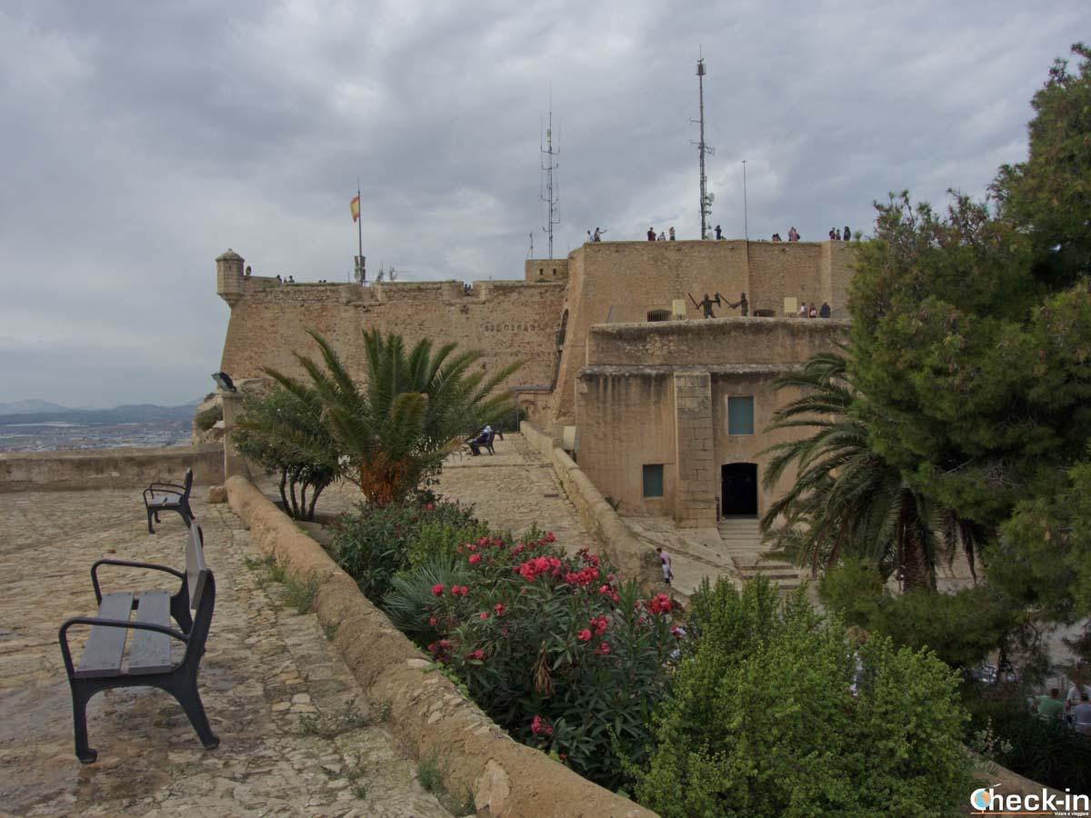 Visita del Castello di Santa Barbara a Alicante - Costa Blanca, Spagna