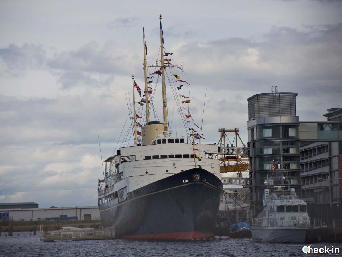 Le 5 attrazioni da vedere a Edimburgo: il Royal Yacht Britannia (biglietti disponibili online)