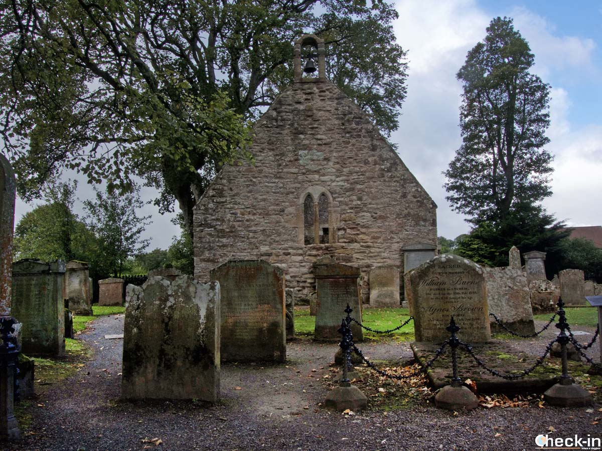 The Auld Kirk of Alloway - Robert Burns trail in South Ayrshire, Scotland