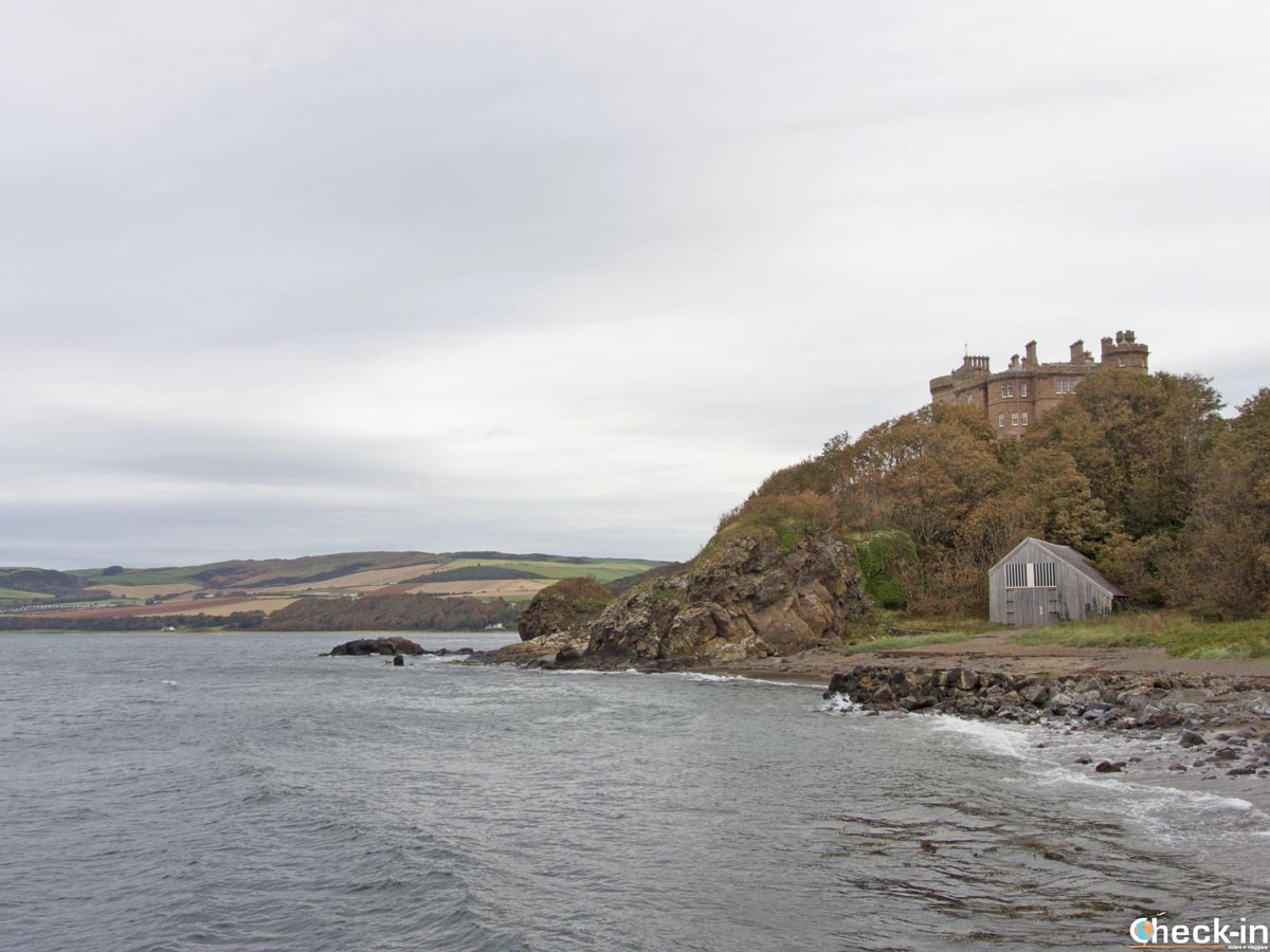 Day out in Ayrshire at the Culzean Castle and Country Park (Scotland)