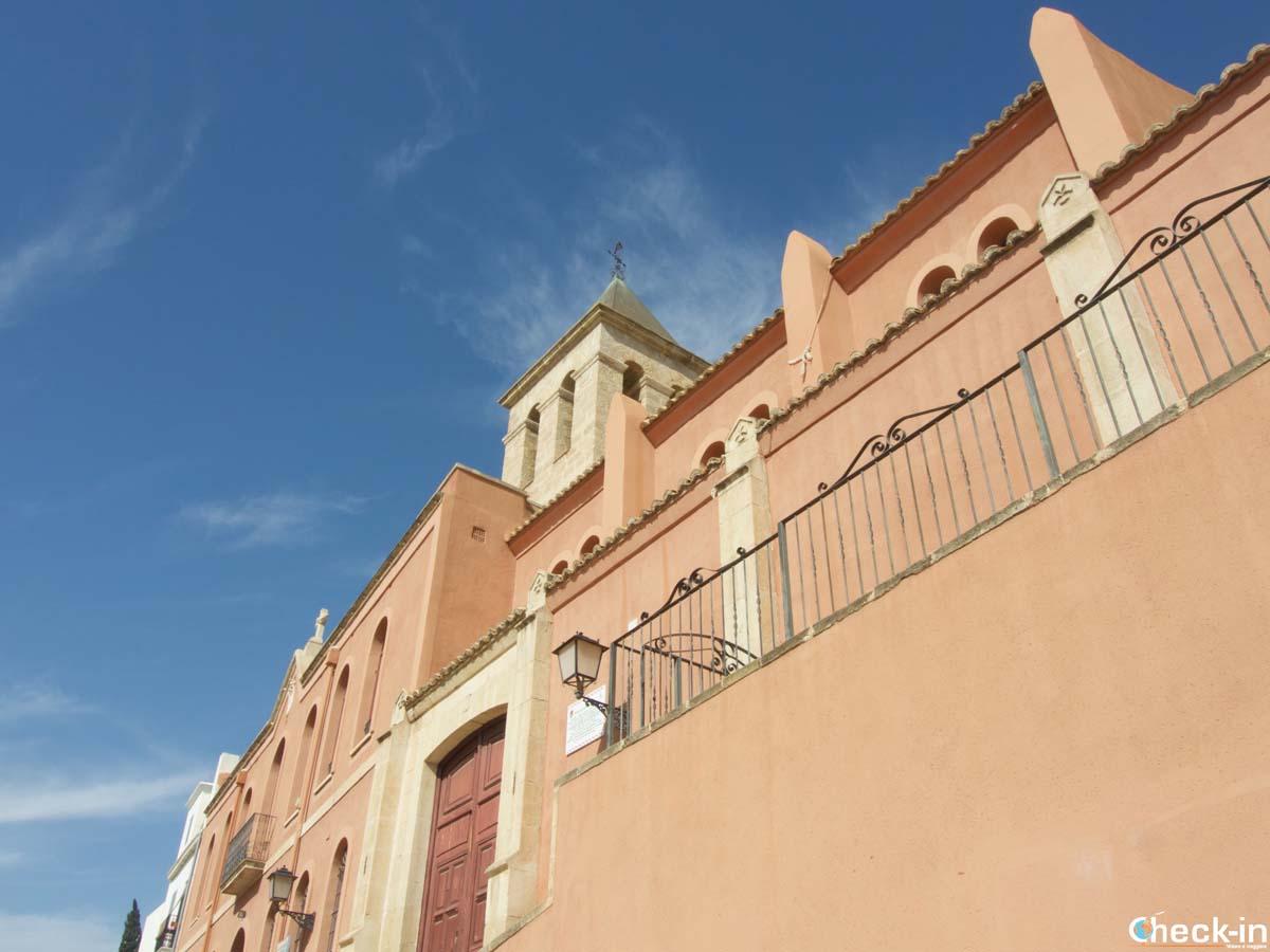 Fachada de la Ermita de San Roque en Alicante