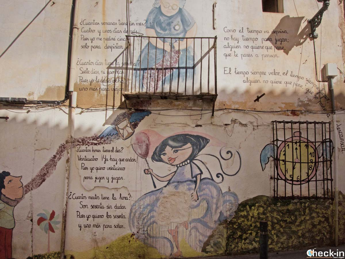 Murales en Alicante - calle Toledo