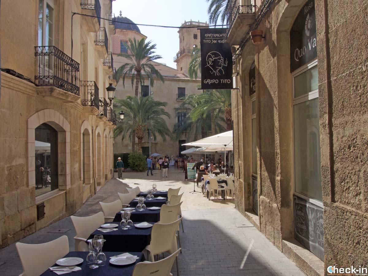 Lugares con encanto en Alicante: Plaza de la Santísima Faz