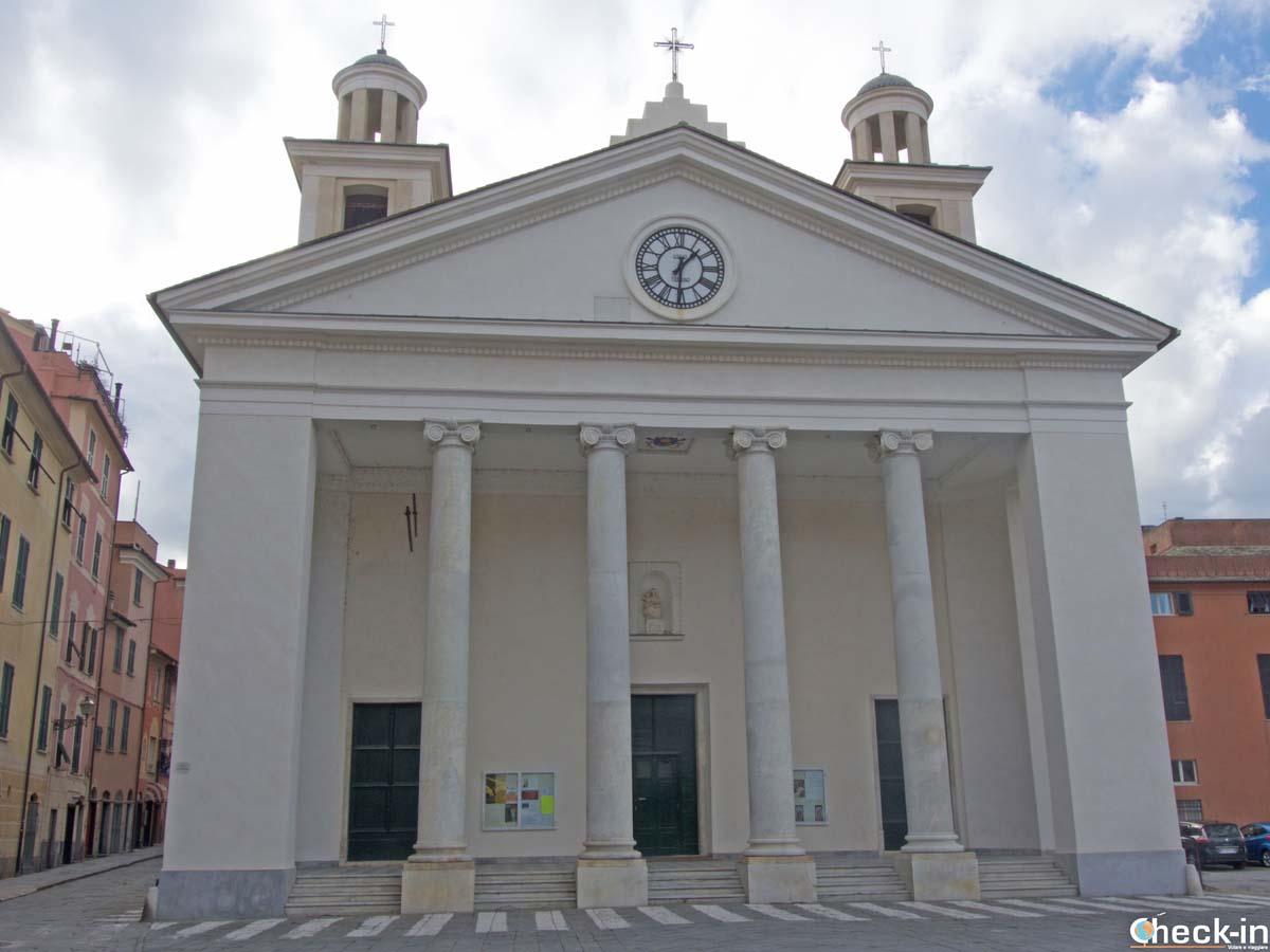 Cosa vedere a Sestri Levante: la Basilica di S. Maria di Nazareth