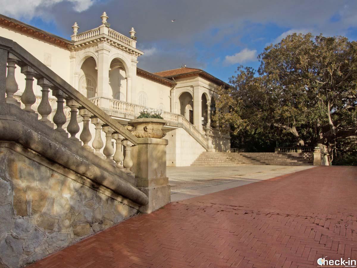 Scorcio di Villa Ormond a Sanremo, la Città del Fiori della Liguria