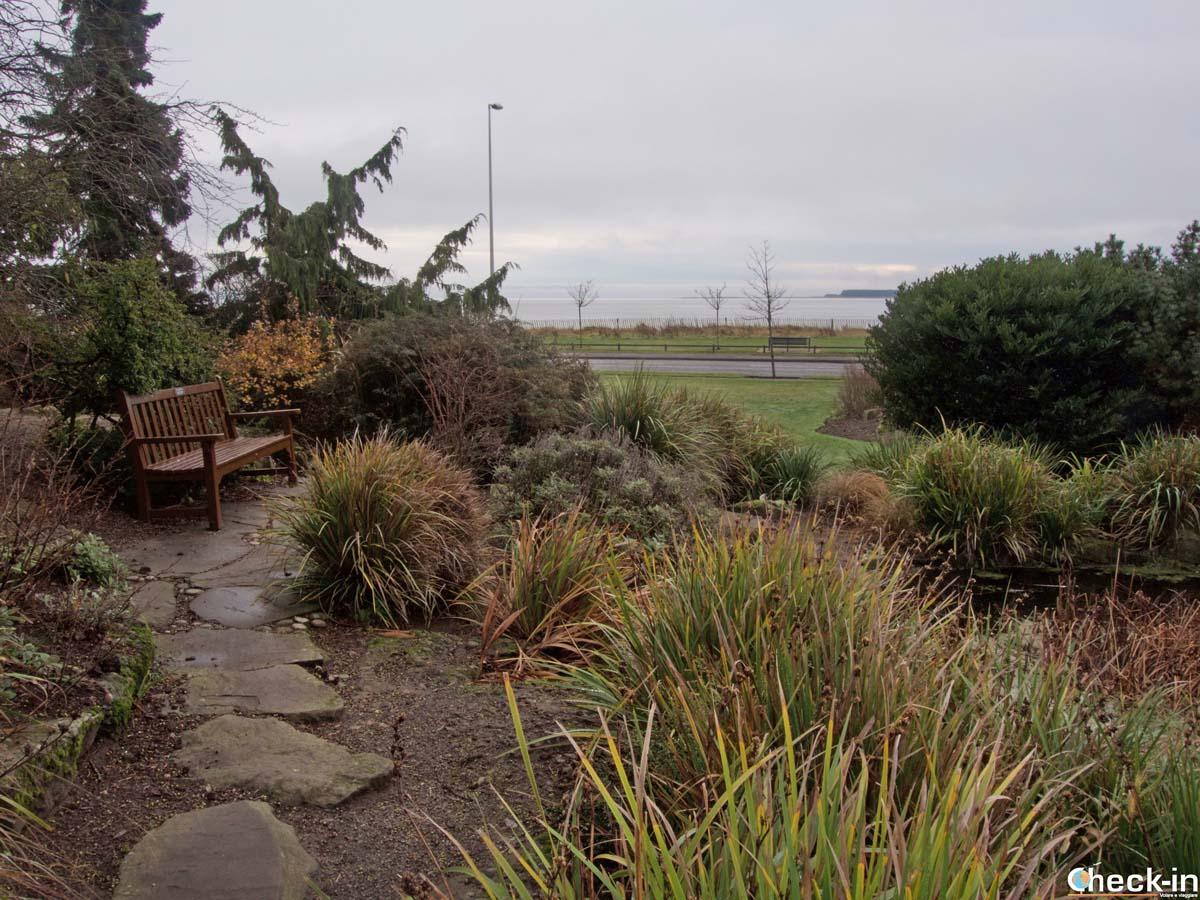 I giardini del Barnhill Rock Garden di Broughty Ferry