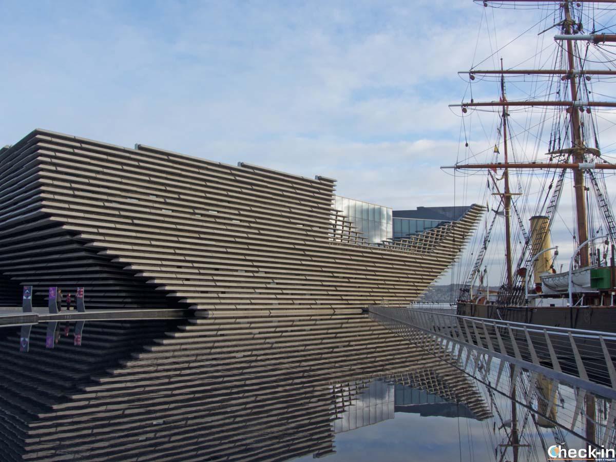 Visita di Dundee alla scoperta del nuovo V&A Museum