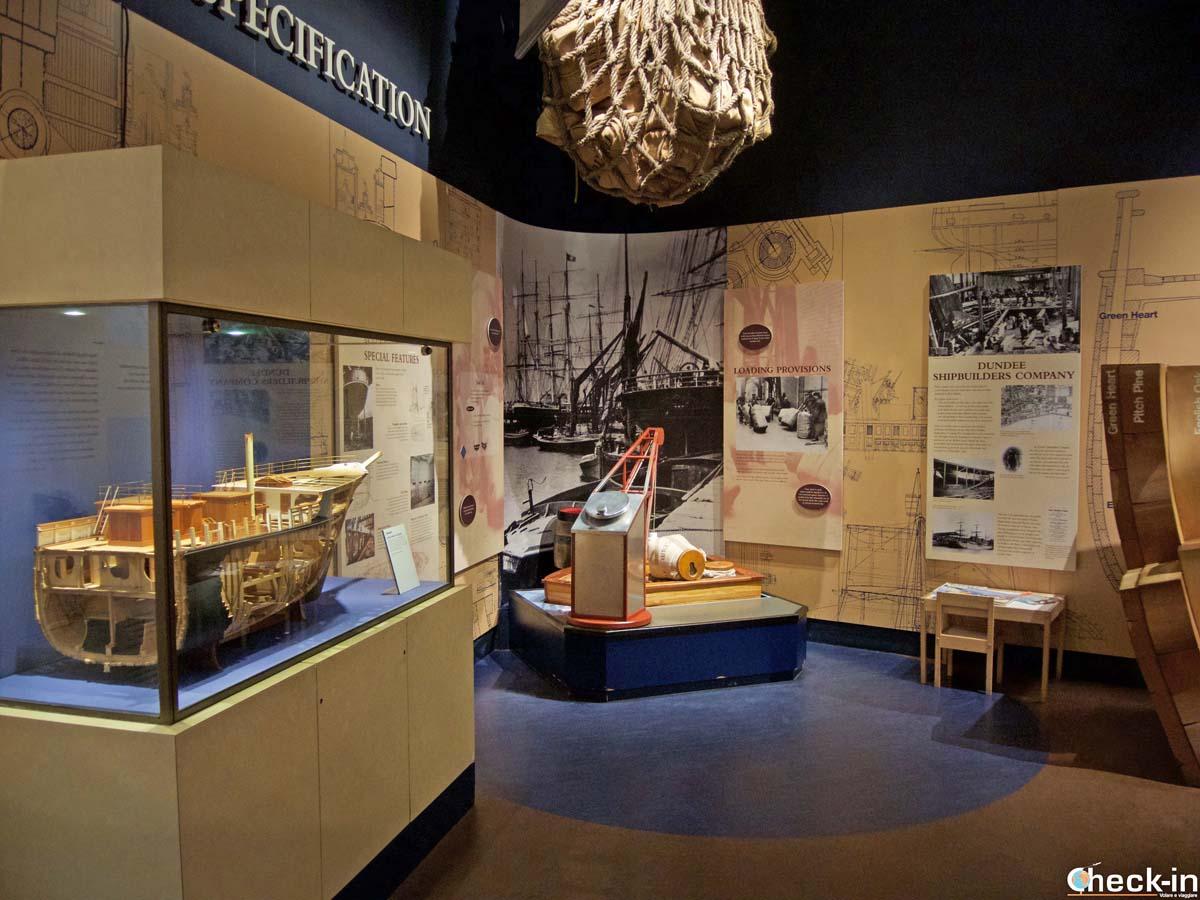 Visita del museo della nave RRS Discovery a Dundee (Scozia)