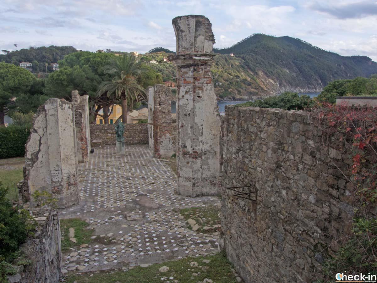 Le rovine dell'Oratorio di Santa Caterina a Sestri Levante - Liguria