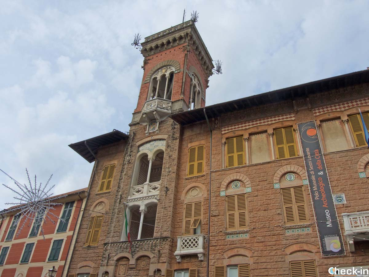 Cosa vedere nel centro storico di Sestri Levante (GE): Palazzo Fascie