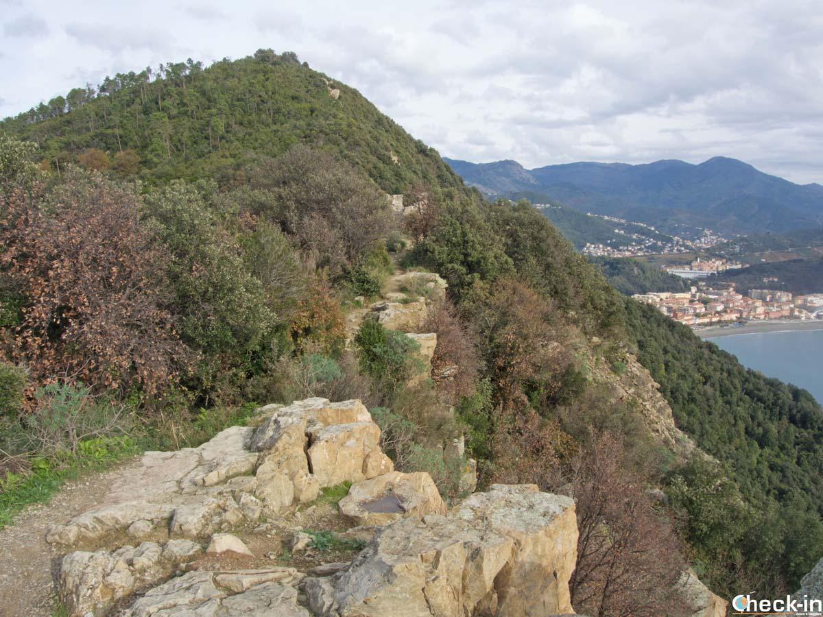 Sentiero panoramico di Punta Manara a Sestri Levante (Liguria)