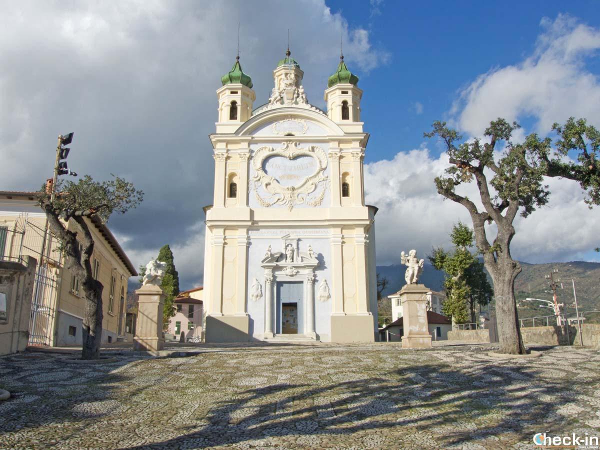 Visita del Santuario della Madonna della Costa di Sanremo (Liguria)