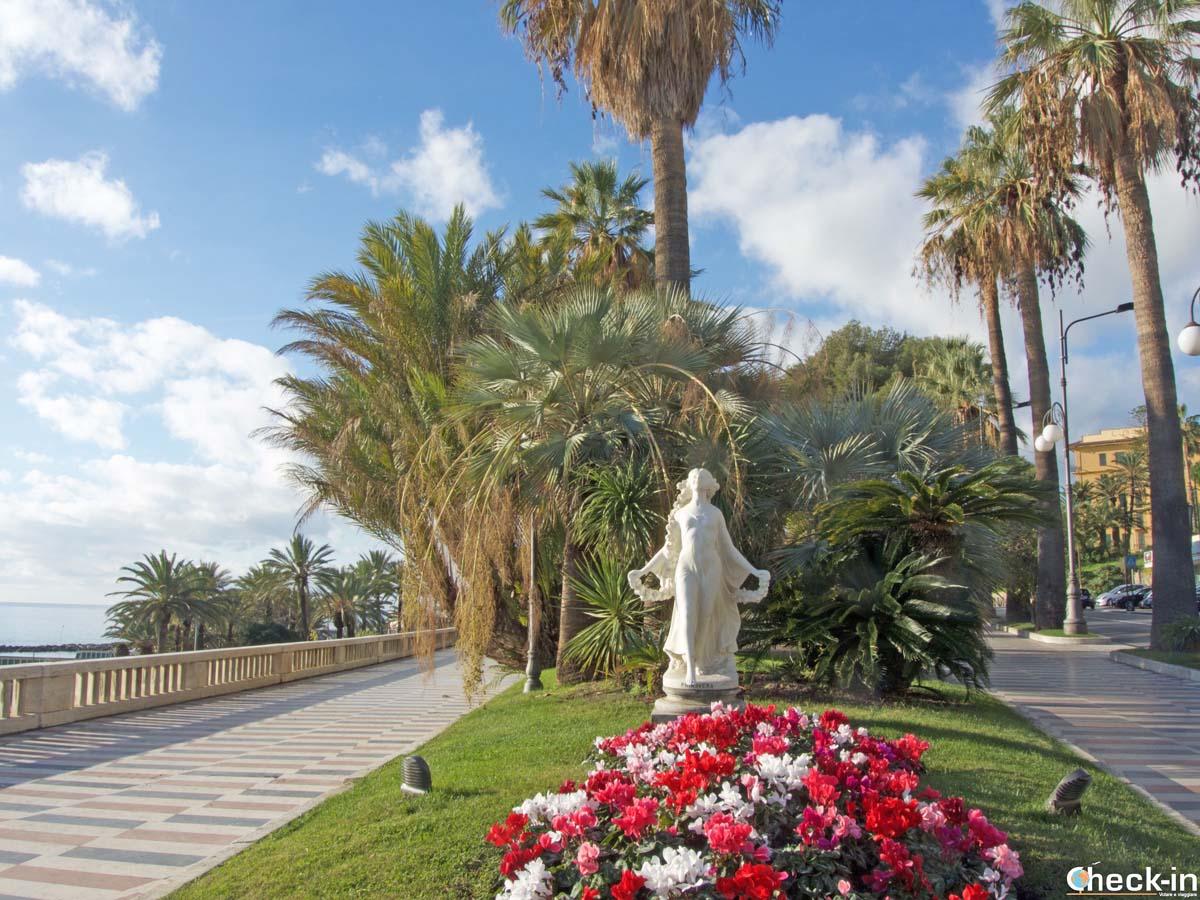 La Statua della Primavera, simbolo di Sanremo
