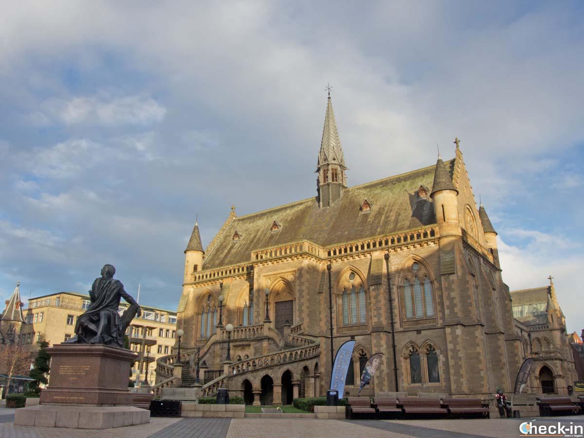 La McManus Gallery nel centro storico di Dundee (Scozia)
