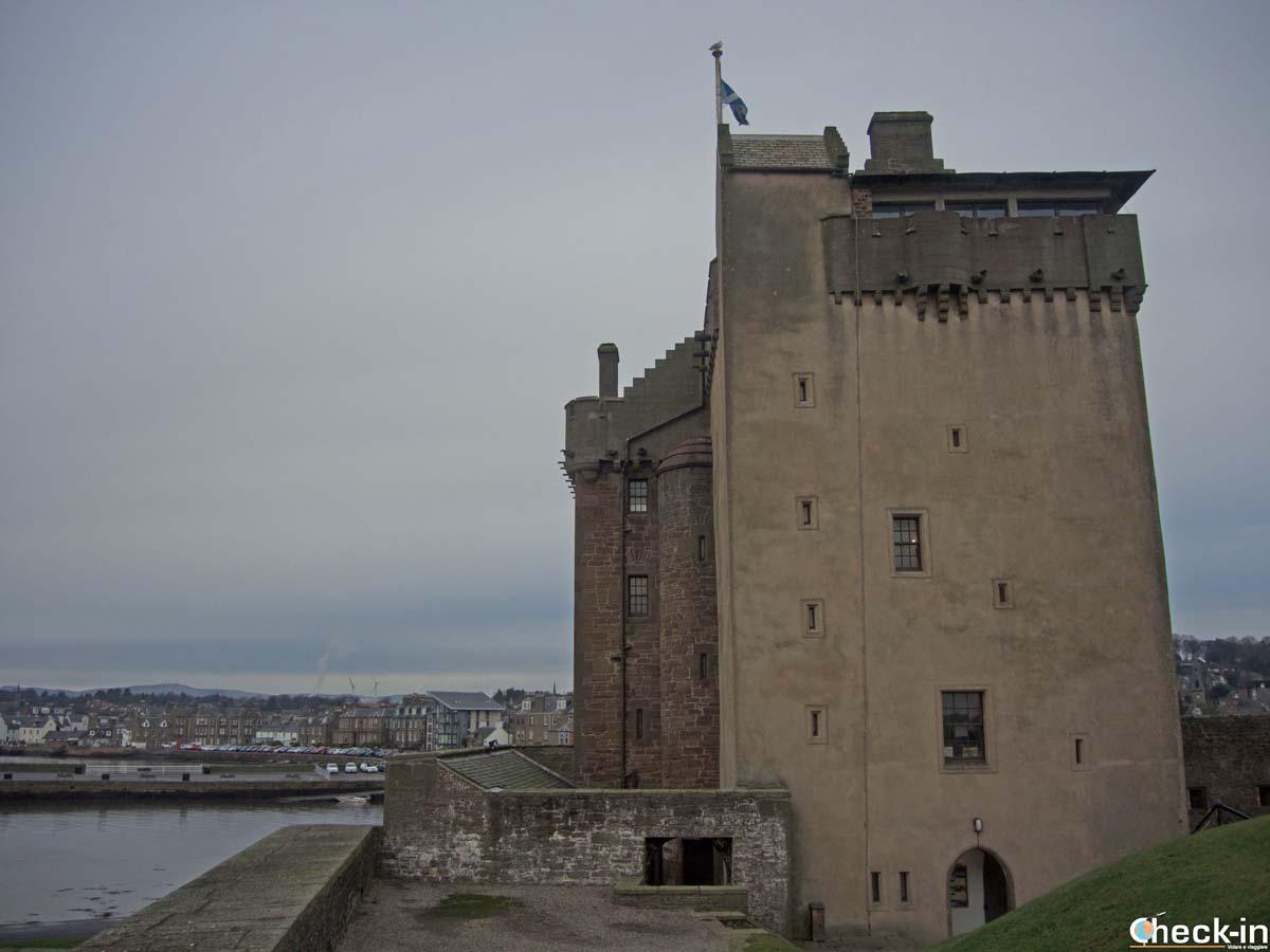 Cosa vedere a Broughty Ferry: il castello - Check-in Travel Blog