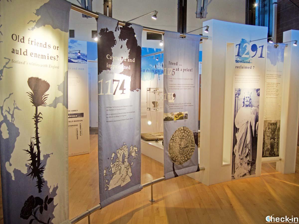 Museo dell'Abbazia di Arbroath - Angus, Scozia