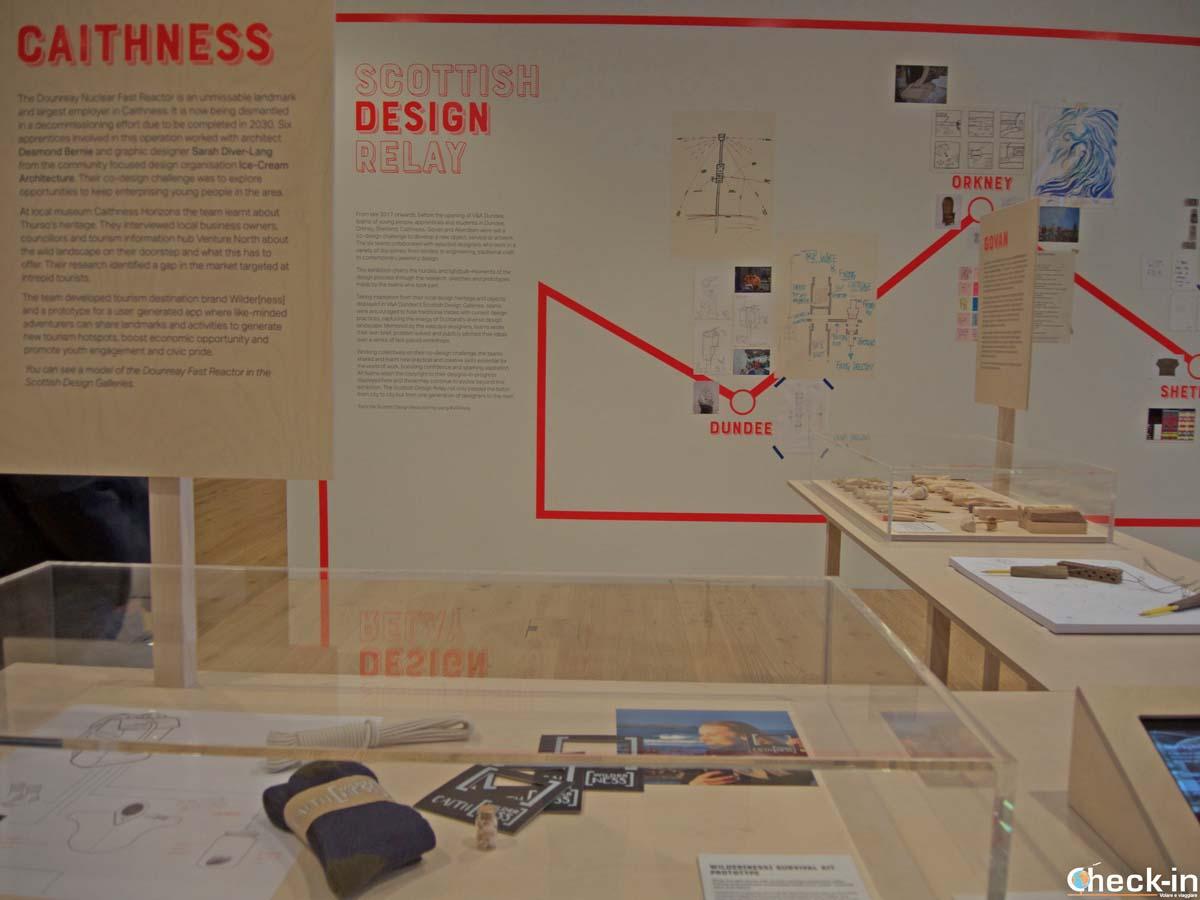 Visita del museo V&A di Dundee (Scozia)