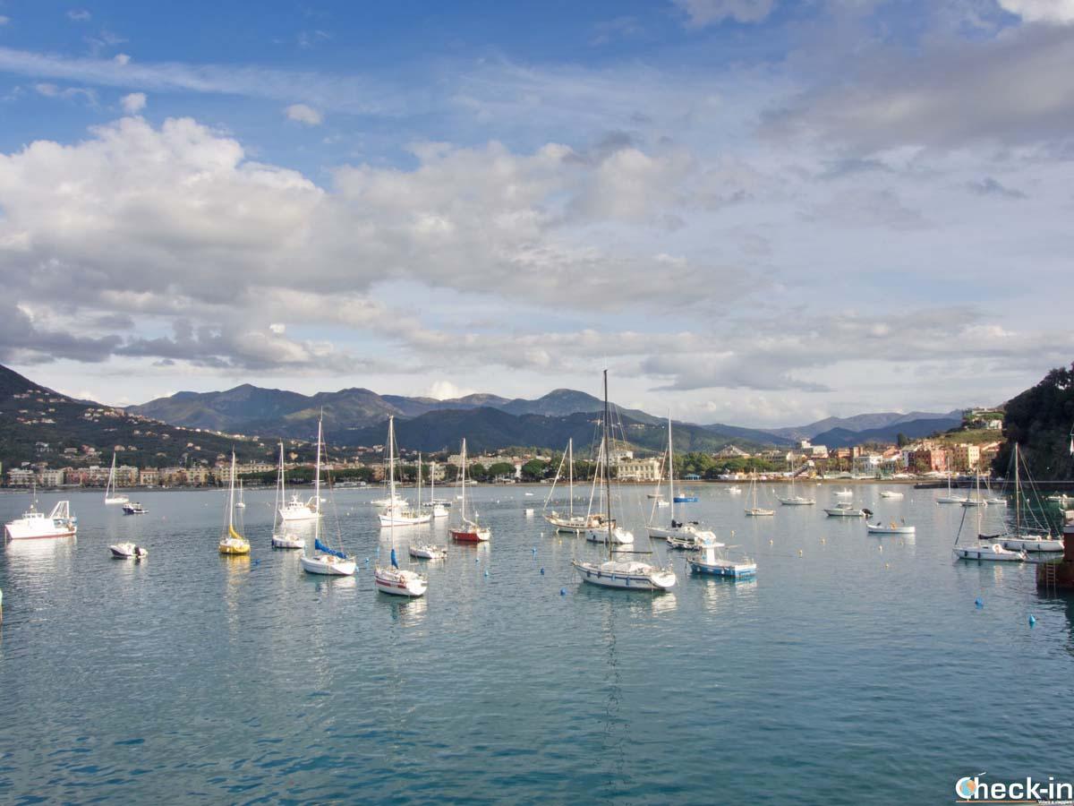 Il porticciolo di Sestri Levante - Riviera ligure di levante