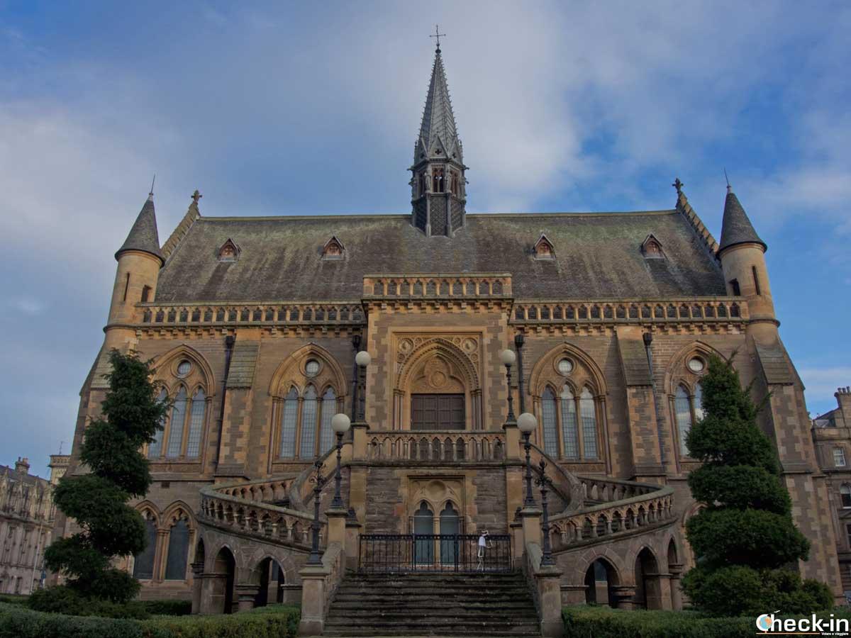 La McManus Galleries nel centro storico di Dundee | Check-in Blog di Stefano Bagnasco
