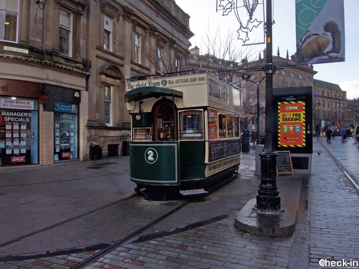 Street food a Dundee al The Auld Tram
