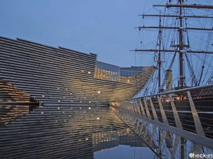 The new V&A Dundee and the RRS Discovery