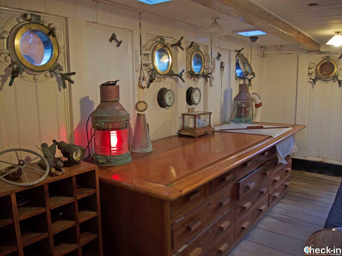 A bordo della nave RRS Discovery a Dundee | Check-in blog di Stefano Bagnasco