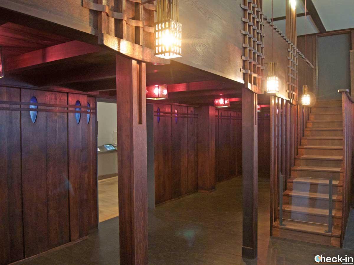 La Oak Room ricreata nel V&A Museum di Dundee (Scozia)