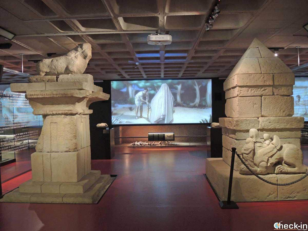 Visita del Museo Arqueológico en el Palacio de Altamira de Elche