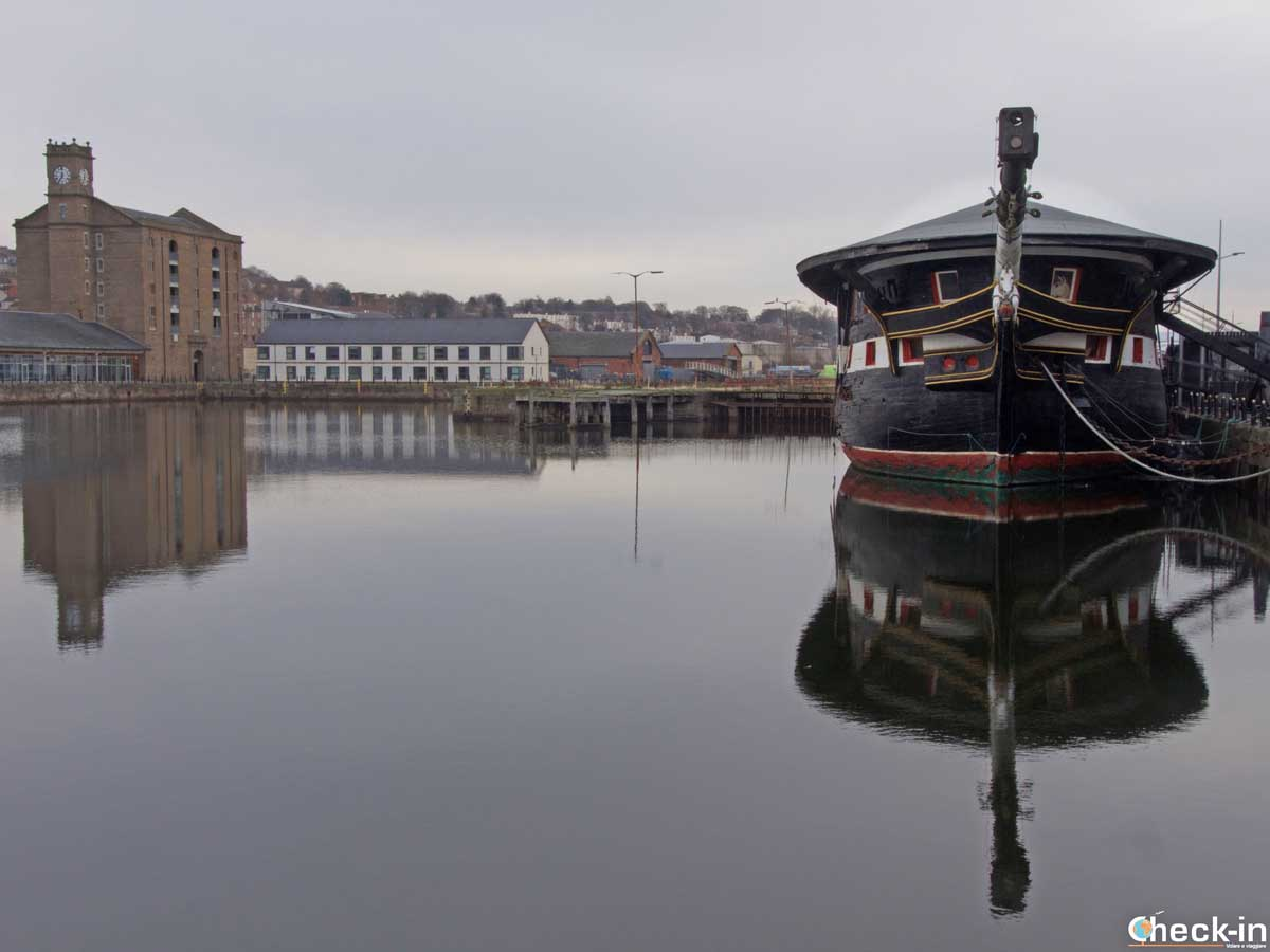 Exploring Dundee Waterfront and the HMS Unicorn