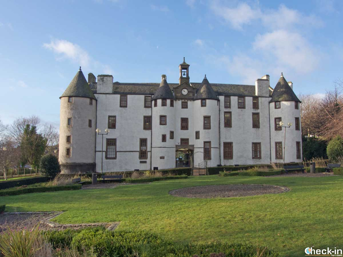 Dudhope Castle in Dundee - East Scotland