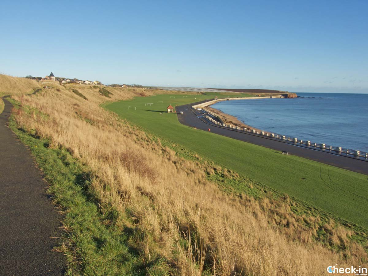 The coastal walk from Arbroath to Auchmithie - Angus, Scotland