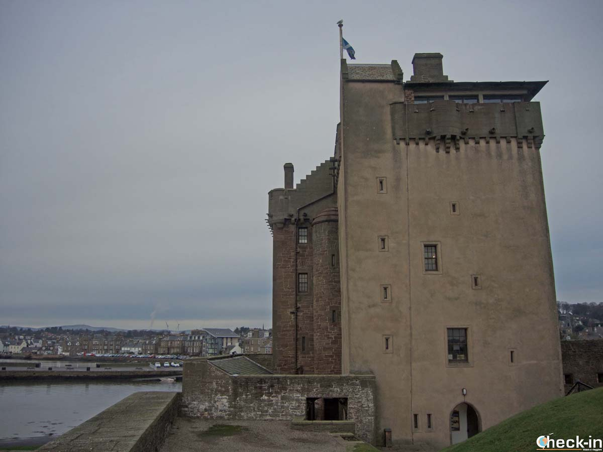 Visit of the Broughty Ferry Castle - Dundee, Historic Scotland