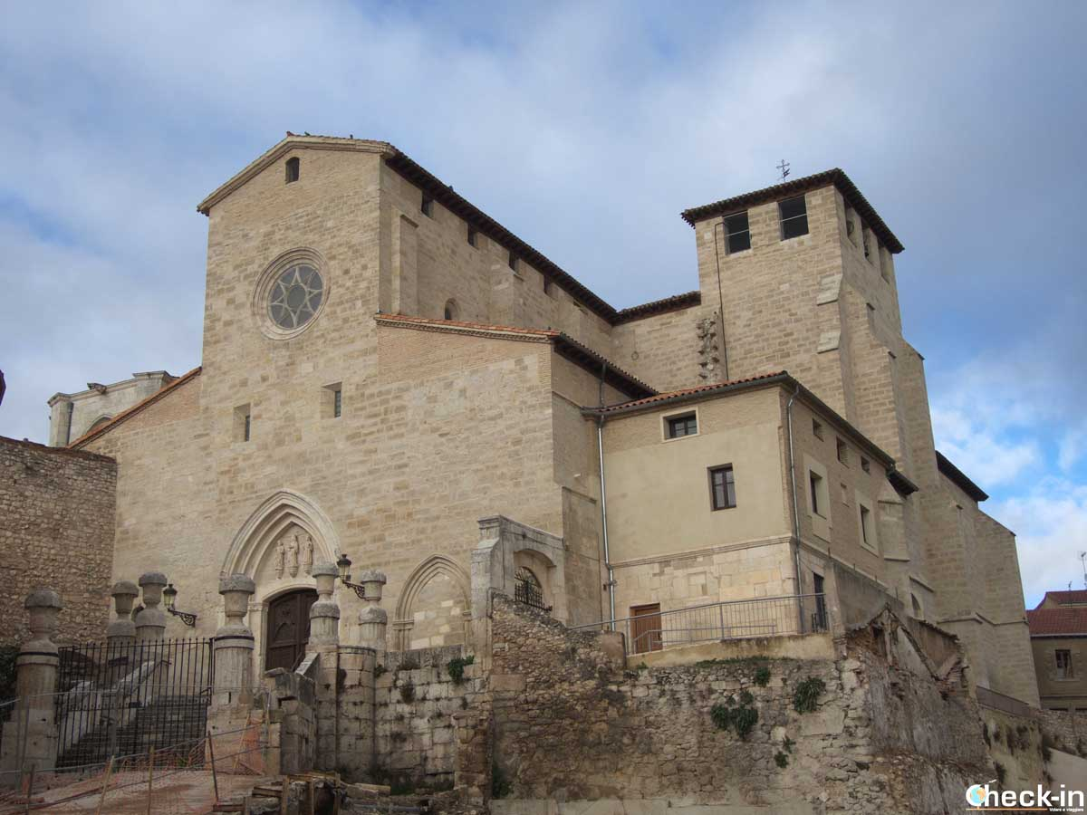 La Iglesia de San Gil nel centro storico di Burgos