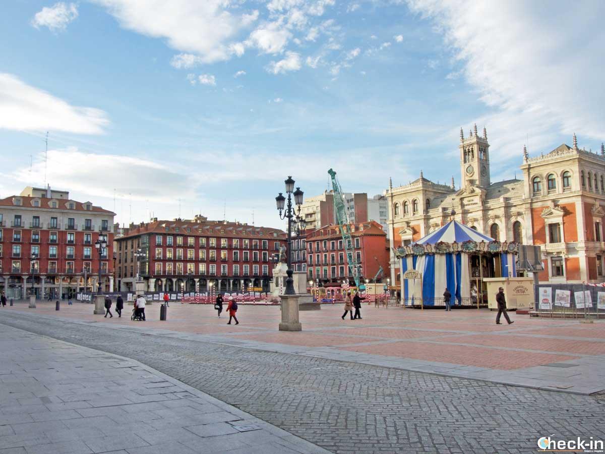 Plaza Mayor di Valladolid - Castiglia e León, Spagna