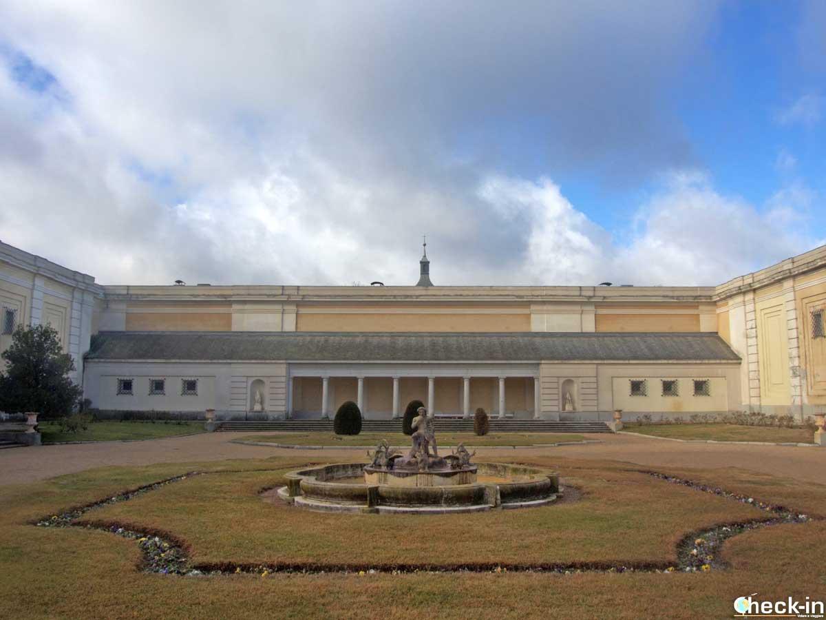 Giardini del Palacio Real de El Pardo a Madrid
