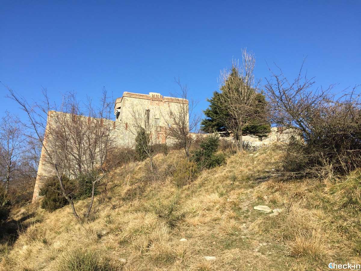 Passeggiata verso Forte Puin a Genova - Check-in di Stefano Bagnasco