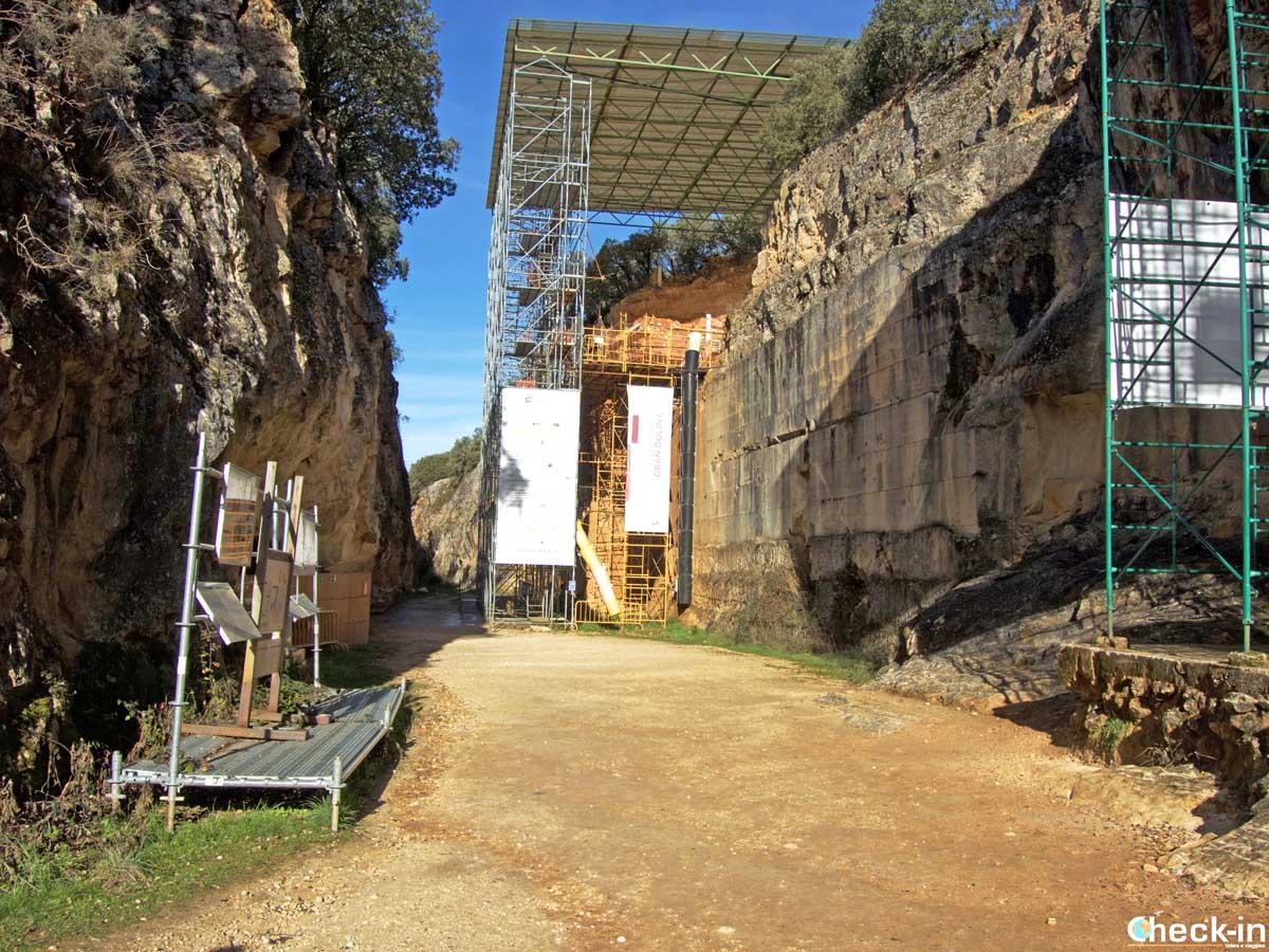 Visita dei giacimenti archeologici della Sierra de Atapuerca (Burgos)