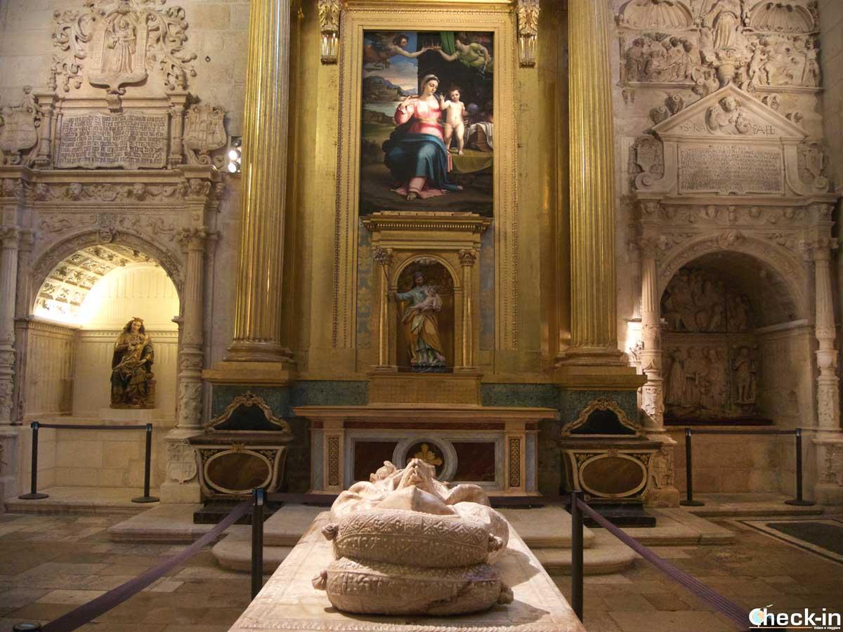 La Cappella di S. Giuseppe nella Cattedrale di Burgos (Spagna del nord)