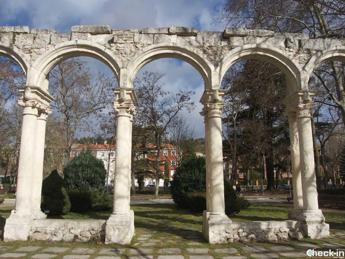 Paseo por el Parque de la Isla en Burgos