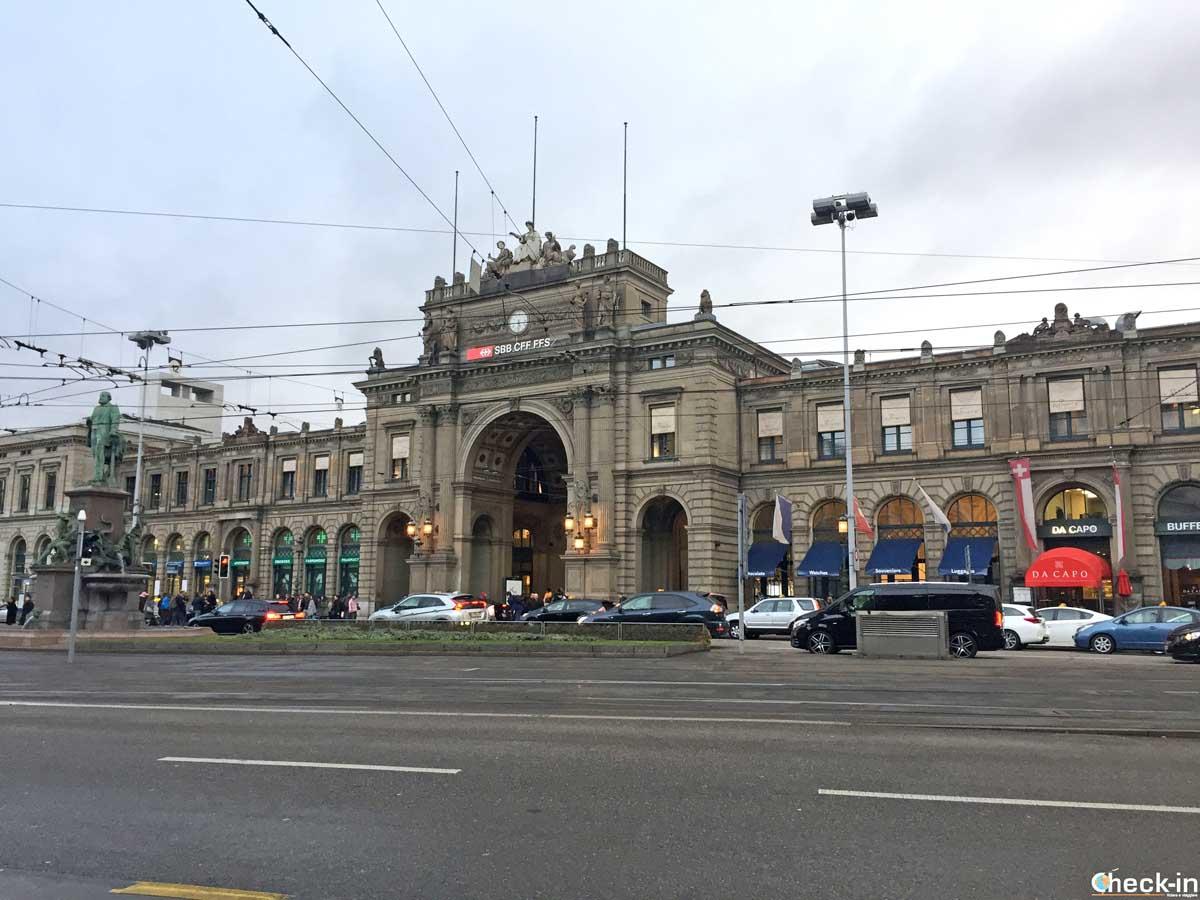 La stazione centrale di Zurigo | Check-in di Stefano Bagnasco