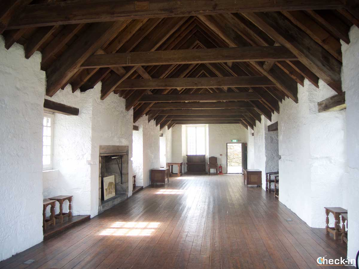 Visita dell'Aberdour Castle, stagione 1 di Outlander