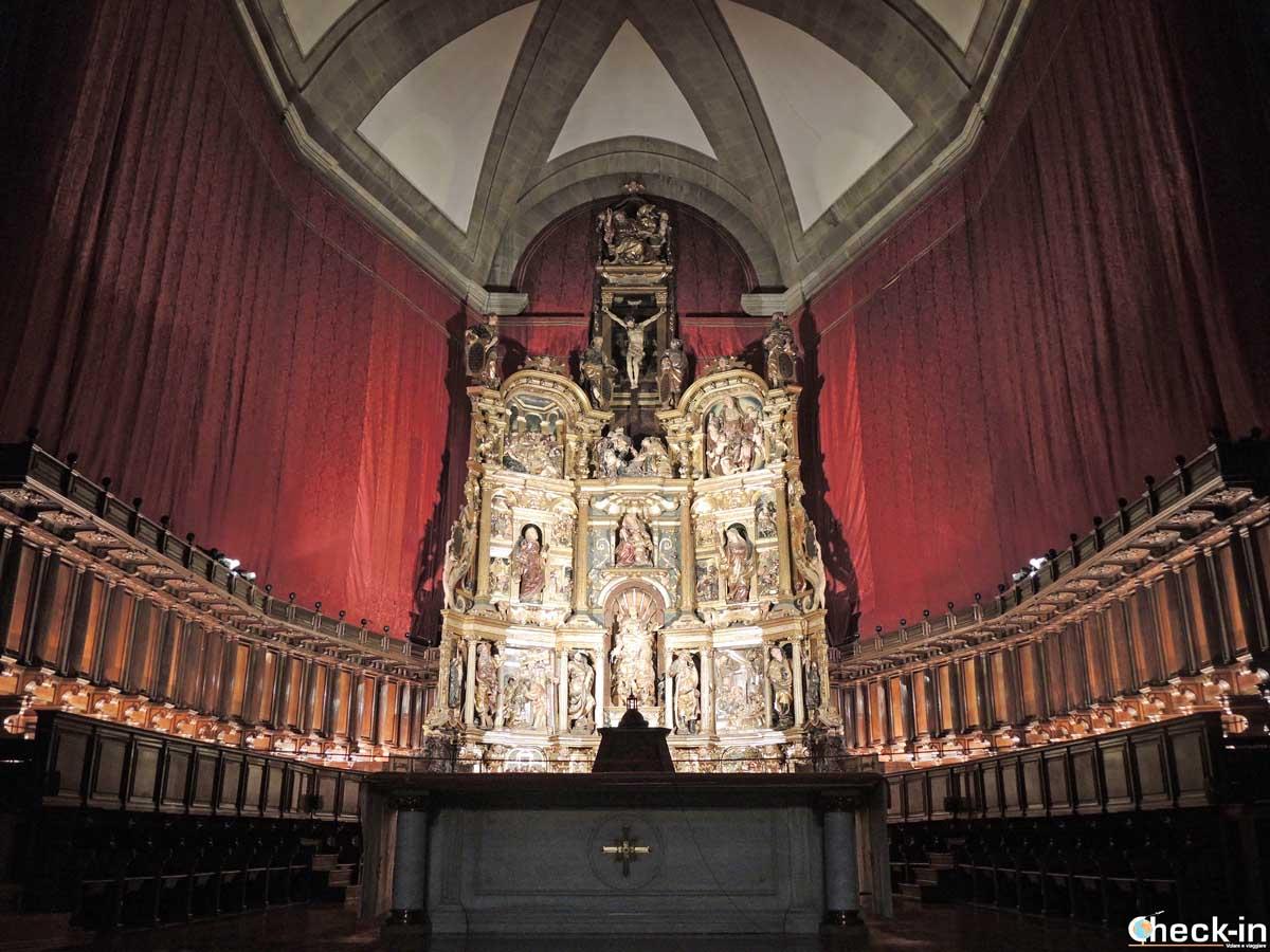 Pala d'altare nella Cattedrale di Valladolid (Spagna)