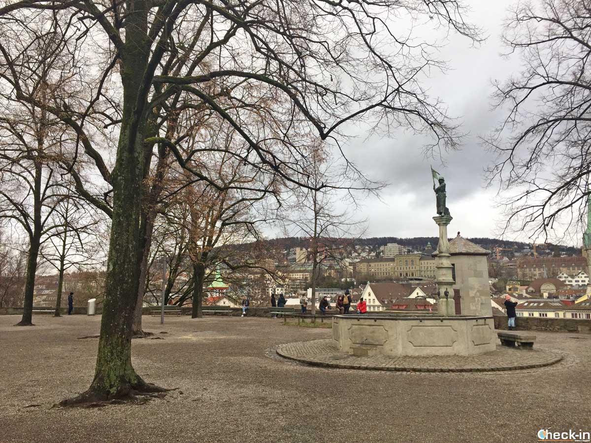 Lindenhof a Zurigo - Viaggio in Svizzera