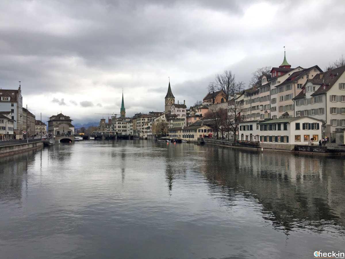 Itinerario a piedi alla scoperta di Zurigo | Check-in Blog di Stefano Bagnasco