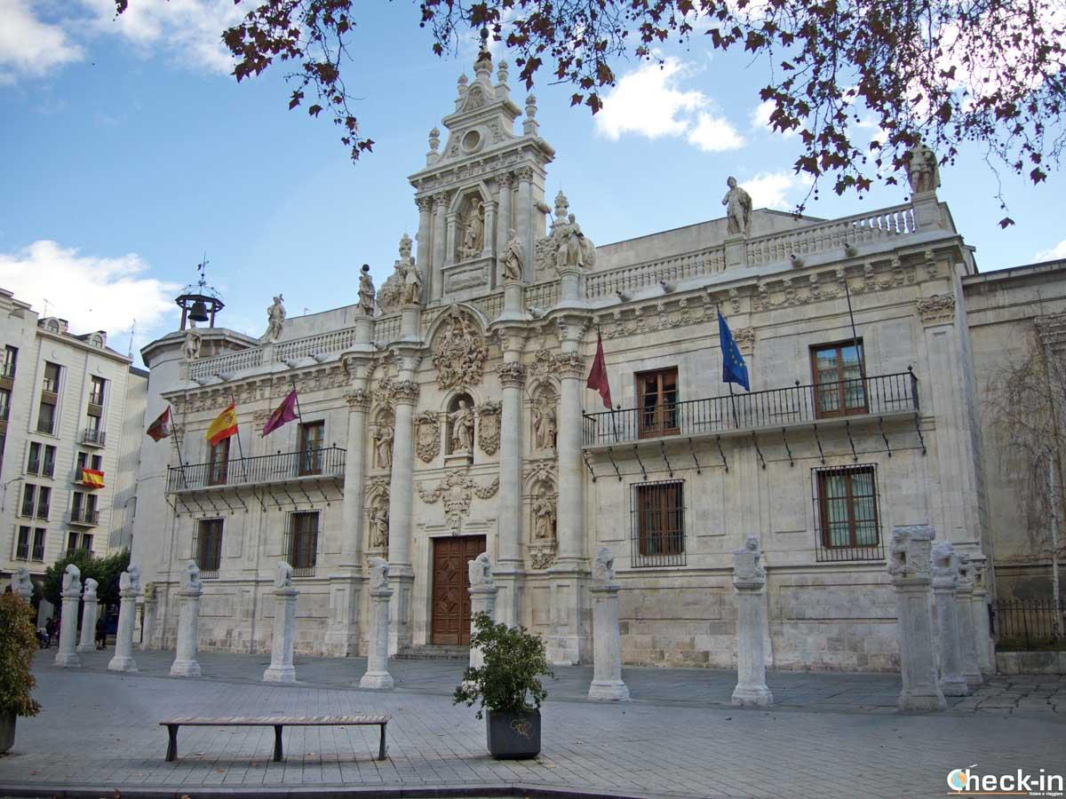 Edificio storico dell'Università di Valladolid, la più antica di Spagna
