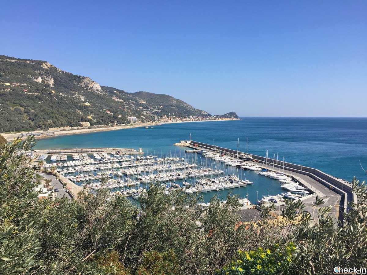 Il porticciolo turistico di Finale Ligure e Varigotti