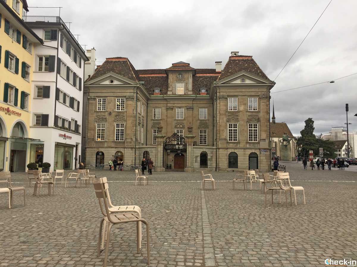 Cosa vedere nella cittadella antica di Zurigo