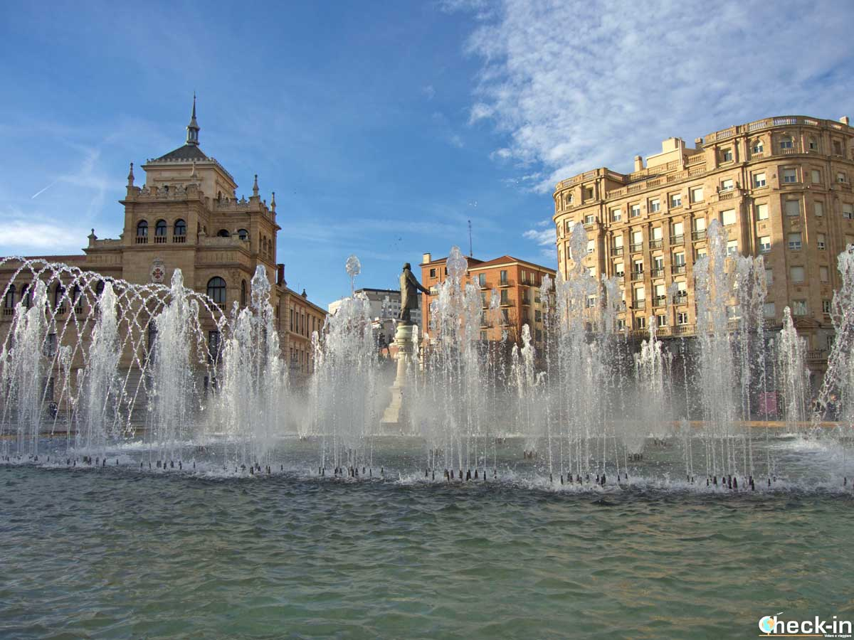 Cosa vedere a Valladolid in 2 giorni: Plaza de Zorrilla