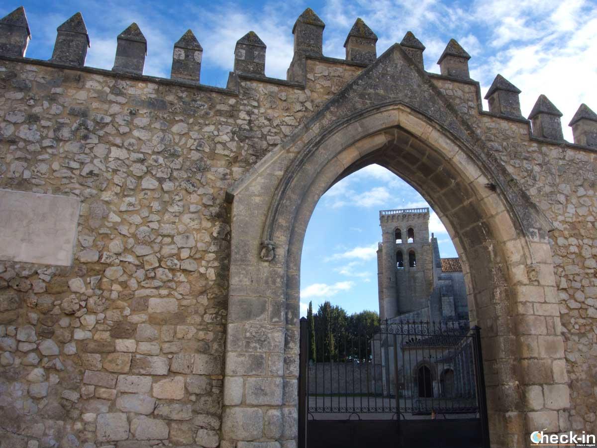 Visita del Monasterio de las Huelgas en Burgos (España)